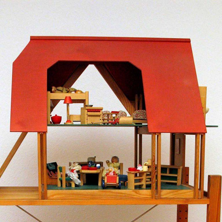 Puppenhaus Therapiematerial