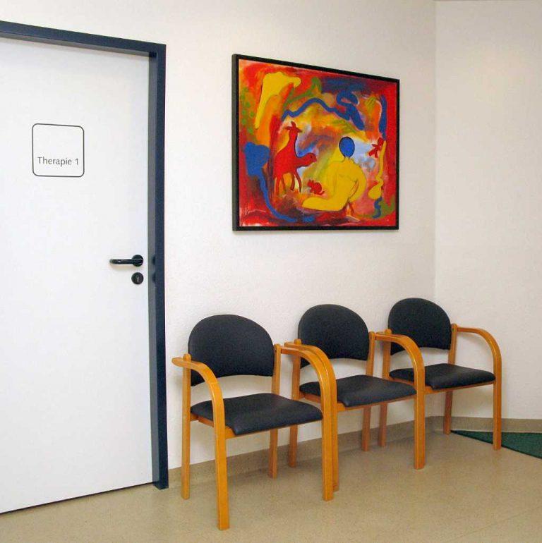 Sprachtherapie Warteraum